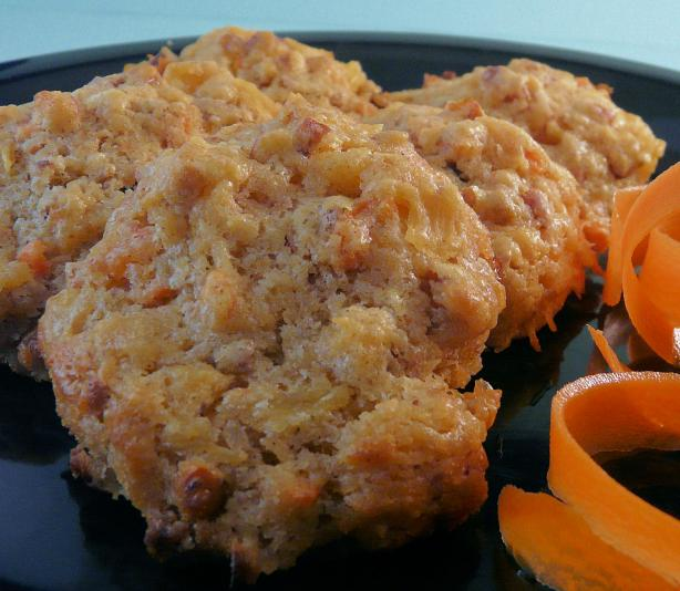 Pineapple Carrot Cookies