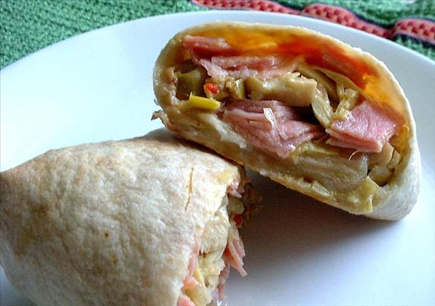 Antipasto Pocket Sandwich
