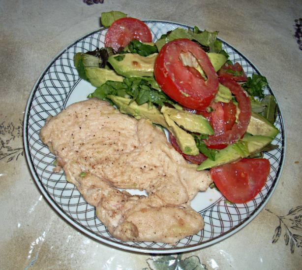 Hot Chicken Filet Salad