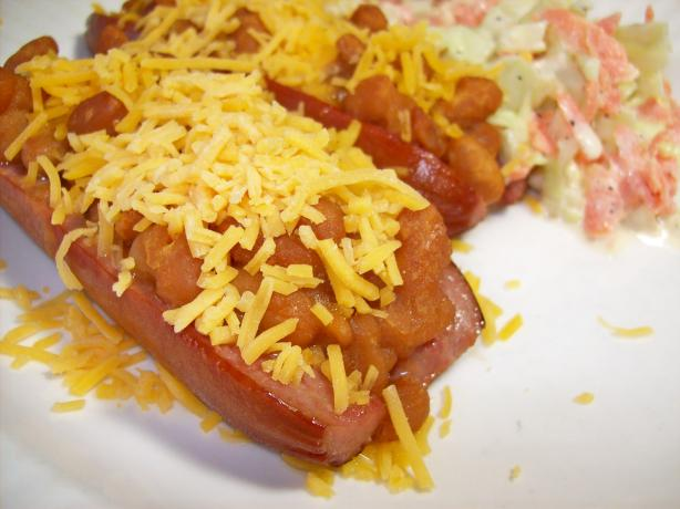 Stuffed Hot Dogs