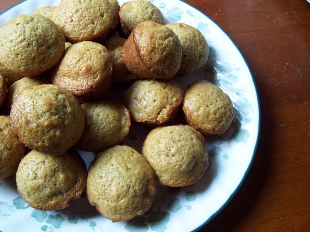 Mini Mocha Macadamia Muffins