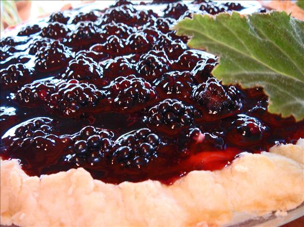 Bev's Bodacious Blackberry Bounty Pie