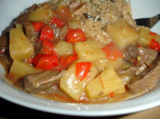 Kerris' Mums Sweet & Sour Beef