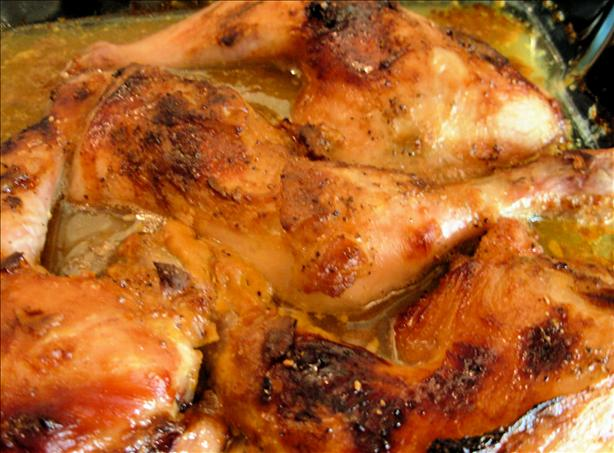 18th Century Drunken English Somerset Cider Chicken With Honey