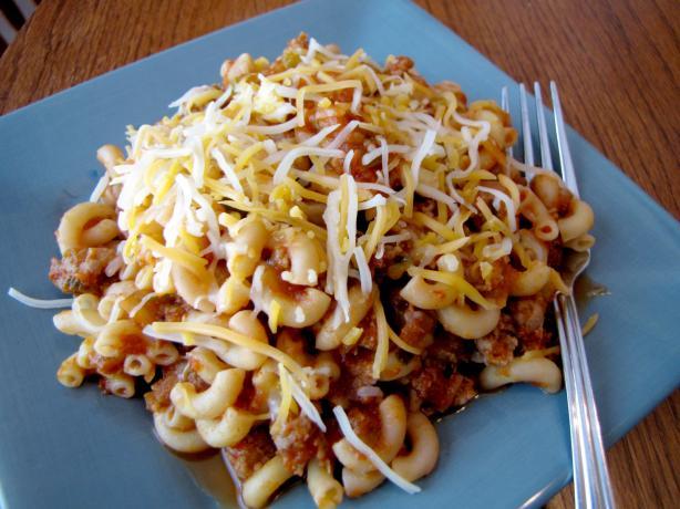 Tex Mex Spaghetti