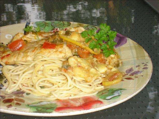 Jan's Chicken Piccata