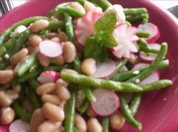 Asparagus, Bean, and Feta Salad