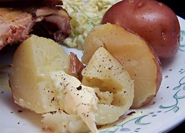 Water Pan Potatoes