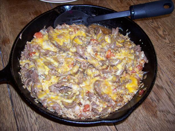 Beef Bruschetta Skillet