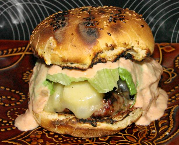 Nepenthe's Famous Ambrosia Burger