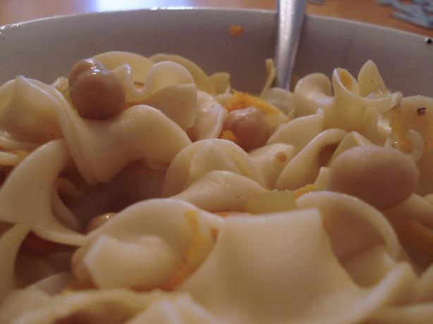 Garbanzo Noodle Soup