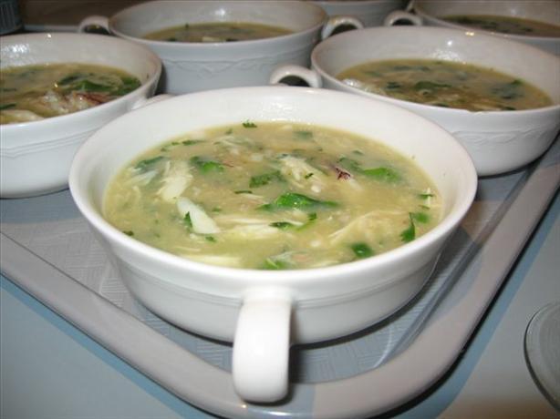 Crab & Asparagus Soup