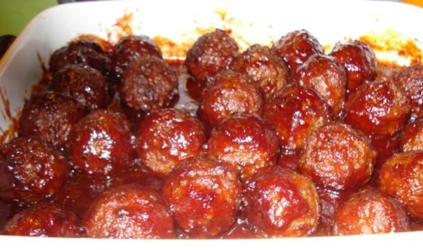 Eileen's Jelly Meatballs