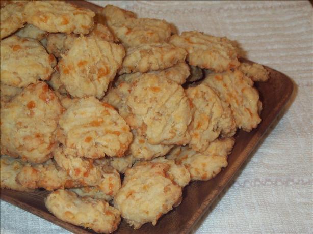 Crispy Cheddar Cookies