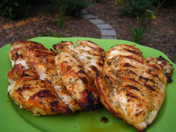 Grilled Lemon Dijon Chicken