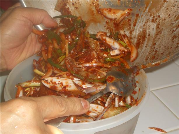 Korean Spicy Crab