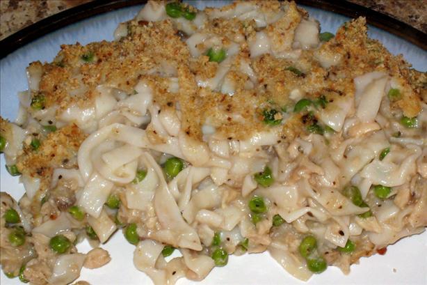 """tofu Noodle"" Tuna Casserole"