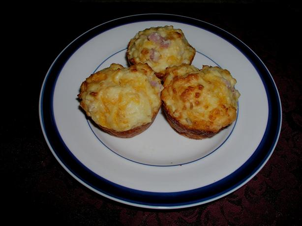 Ham Cheese and Pineapple Muffins