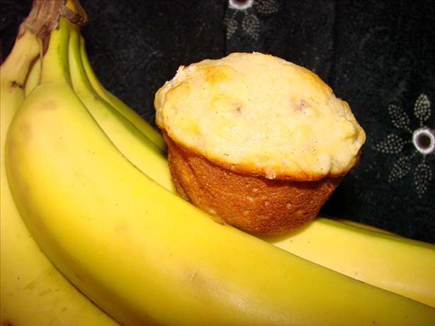Banana Cardamom Muffins
