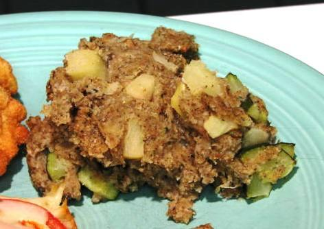 Apple Zucchini Stuffing