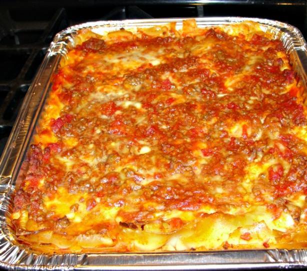 Elaine's Lasagna