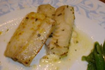 Tarragon Flounder