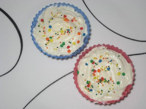 Low-Fat Sugar-Free Vanilla Cupcakes