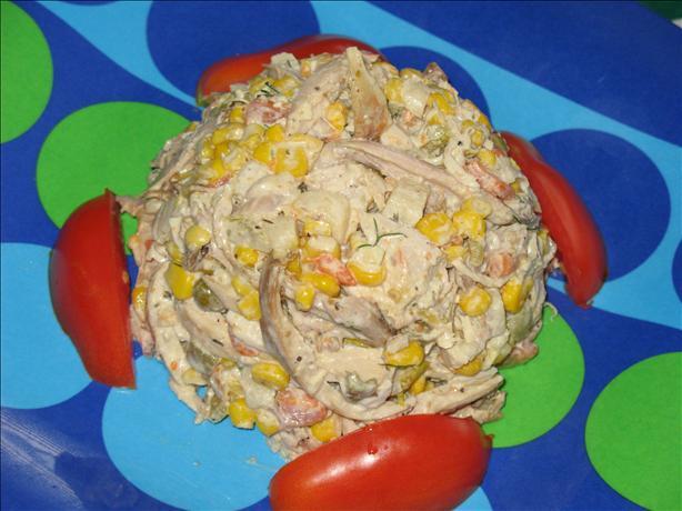 Chicken Chile Salad