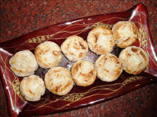 Baked Taro Puffs