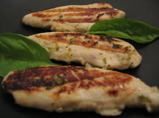 Grilled Basil Lemon Chicken
