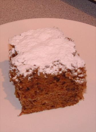 Old Virginia Carrot Tea Cake