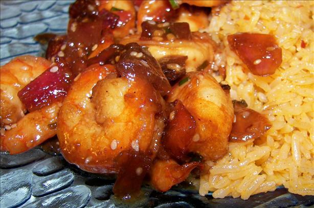 Honey and Sesame Shrimps