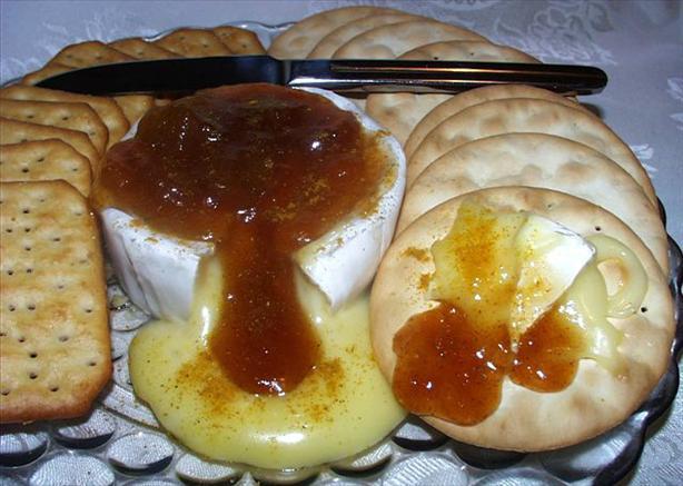 Mango Curried Brie