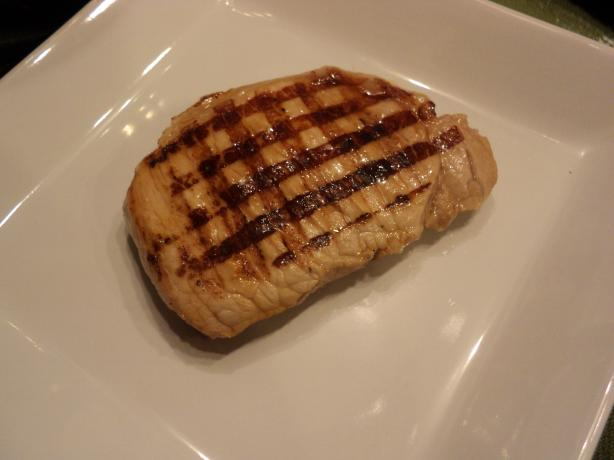 Grilled Fresh Herb Brined Pork Chops