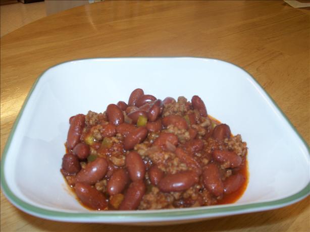 Mom's Crock Pot Chili