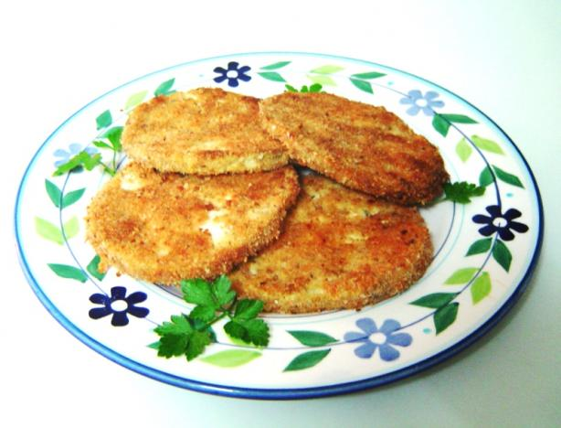 Oven-Fried Eggplant Cutlets