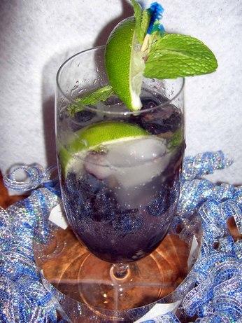 Ila's Blueberry Mojito