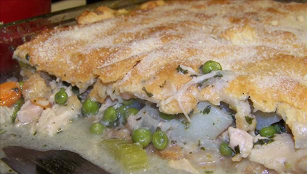 Family Circle's Lean Chicken/Turkey Pot Pie