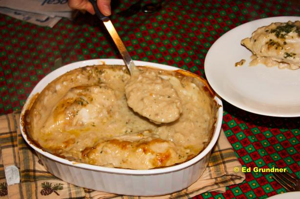 White Rice & Chicken Casserole