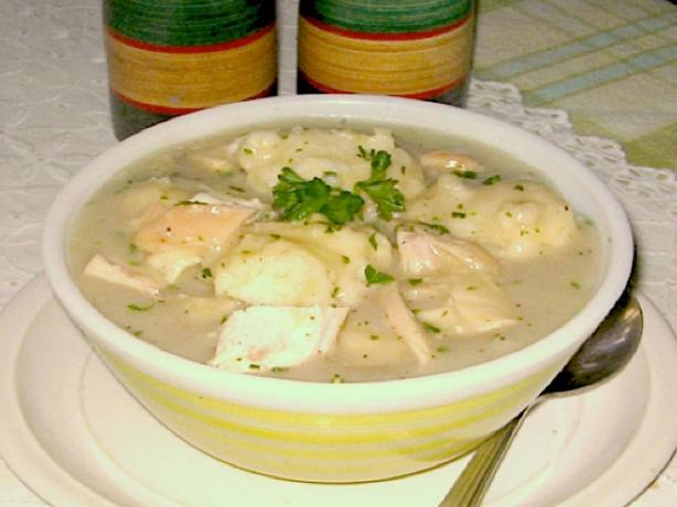 Old Fashioned Chicken and Dumplings (Made Easy)