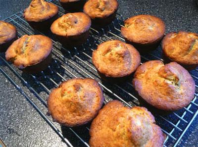 New England Banana Muffins