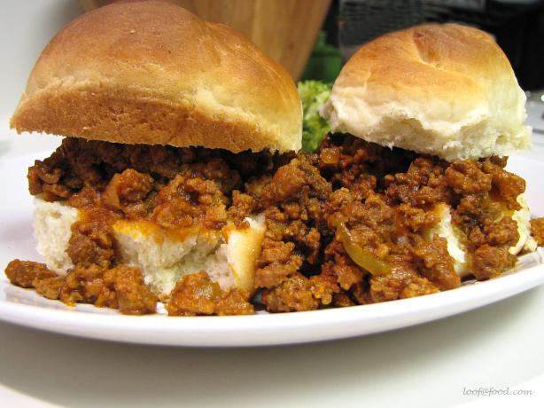 My Homemade Sloppy Joes
