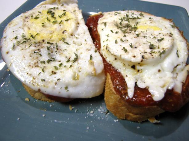 Italian Egg Sandwiches