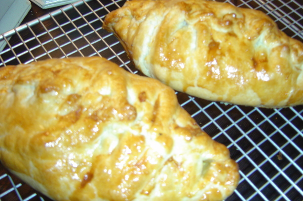 Leftover Turkey or Chicken Pasties