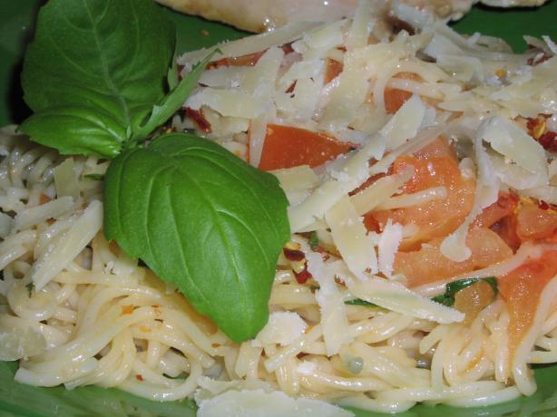 Angel Hair Pasta With Basil & Tomatoes