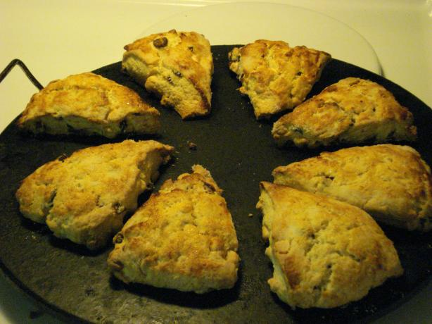 White Chocolate Craisin Scones