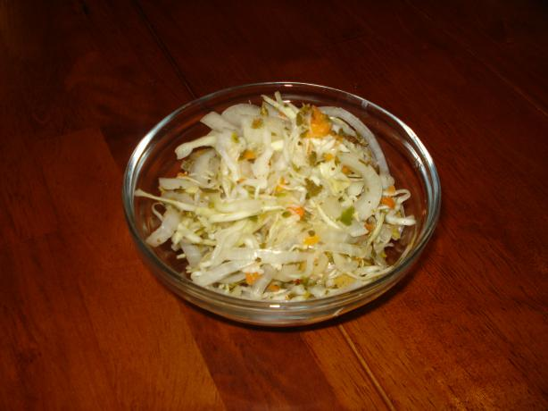 Curtido (Salvadorean Pickled Coleslaw)