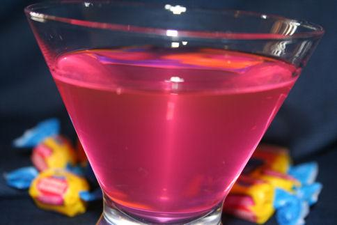Bubblegum Infused Vodka Drinks