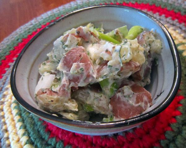 Baby Red Potato Salad With Lemon and Herbs