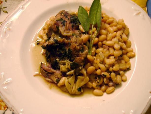 Slow-Cooked Tuscan Pork With White Beans